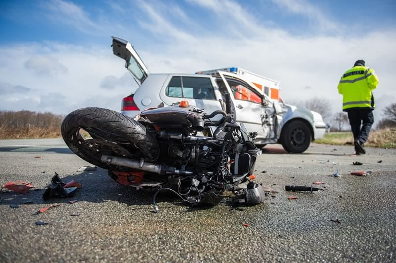 Motorcycle Car Accident