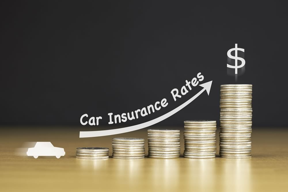 Car insurance rates increase after accident?